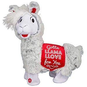 "12"" Plush Twerking Llama Valentine's Day"